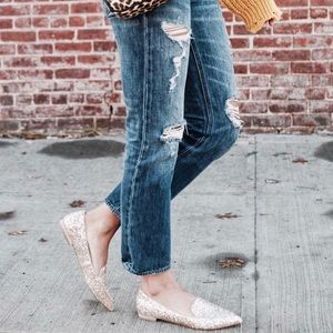 Sole Society Glitter Loafer